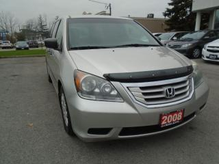 Used 2008 Honda Odyssey LX NO ACCIDENTS  AUX PL,PM,PW SAFETY E TEST INC for sale in Oakville, ON