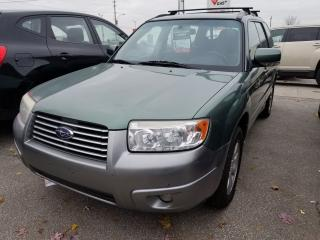 Used 2007 Subaru Forester XS, Heated Seats for sale in Scarborough, ON