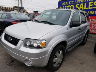 Used 2007 Ford Escape XLT, 4 WD, Winter tires for sale in Scarborough, ON