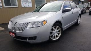 Used 2010 Lincoln MKZ HEATED&COOLED LEATHER-SYNC-TINT for sale in Tilbury, ON