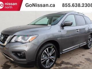 New 2018 Nissan Pathfinder Platinum 4dr 4x4 for sale in Edmonton, AB