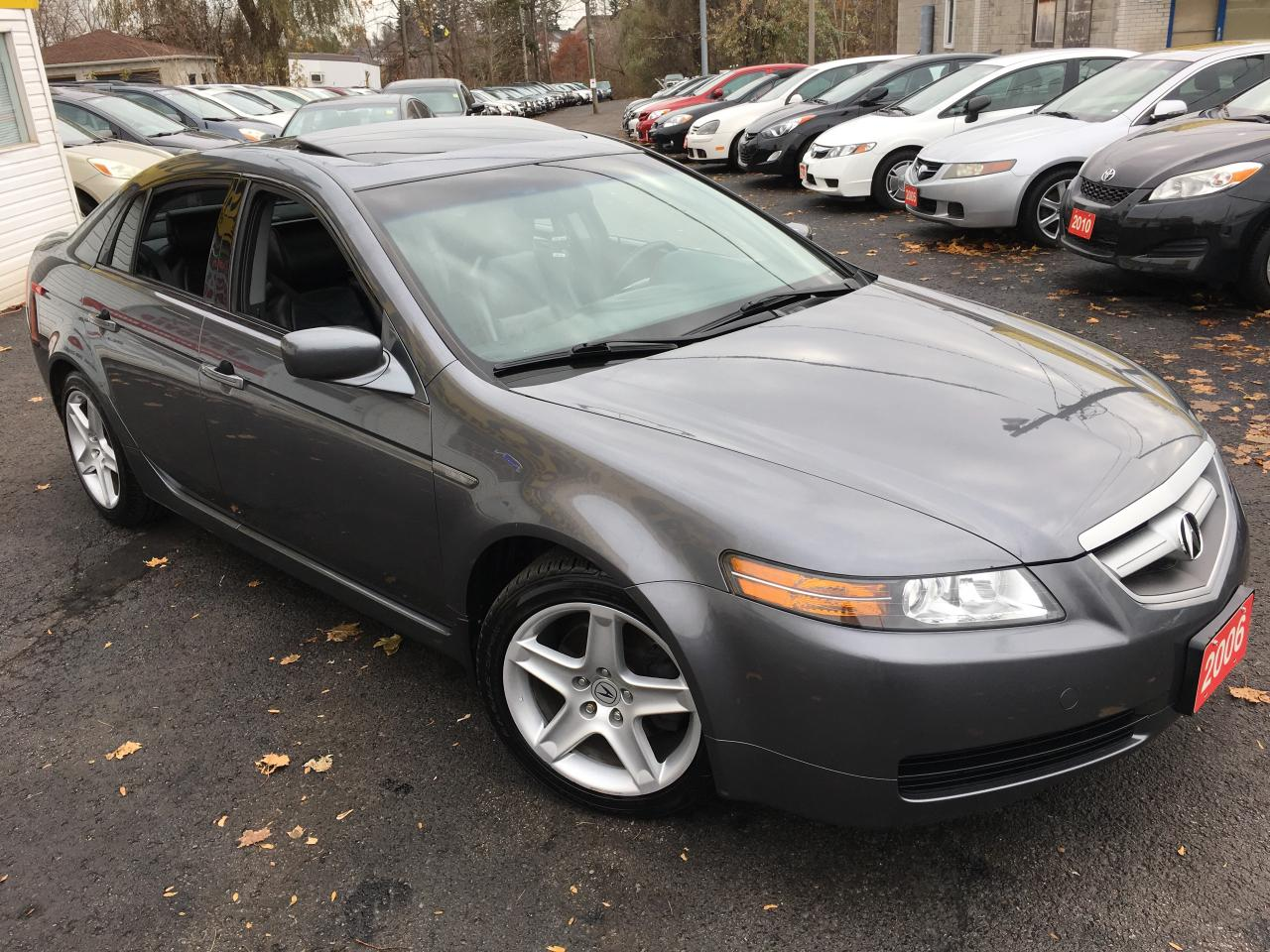 used 2006 acura tl navi leather sunroof alloys. Black Bedroom Furniture Sets. Home Design Ideas