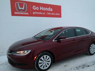 Used 2015 Chrysler 200 LX for sale in Edmonton, AB