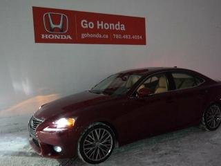 Used 2015 Lexus IS 250 IS250, AWD, LEATHER for sale in Edmonton, AB