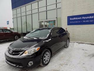 Used 2012 Toyota Corolla CE 4DR SEDAN for sale in Edmonton, AB