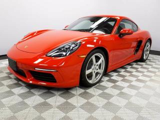 Used 2017 Porsche 718 Cayman CERTIFIED PRE-OWNED | Premium PKG | Manual | PASM for sale in Edmonton, AB