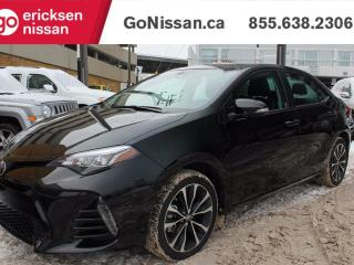 Used 2017 Toyota Corolla XSE, SUNROOF, NAVIGATION, LEATHER for sale in Edmonton, AB