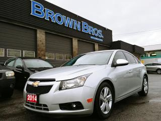 Used 2014 Chevrolet Cruze DIESEL, local, rear camera, remote start for sale in Surrey, BC