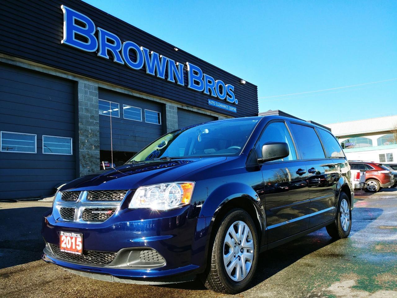 2015 Dodge Grand Caravan SXT, Local, Accident free