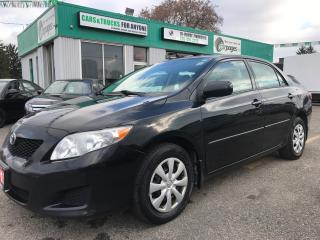 Used 2010 Toyota Corolla CE l No Accidents l Remote Starter for sale in Waterloo, ON