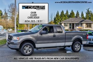 Used 2005 Ford F-150 XLT 4x4, Supercab, Tonneau, Short Box, Very Clean! for sale in Surrey, BC