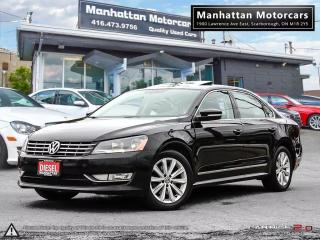 Used 2013 Volkswagen Passat HIGHLINE 2.0 TDI DIESEL|NOACCIDENT|LOADED for sale in Scarborough, ON