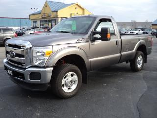 Used 2012 Ford F-250 XLT RegCab 4X4 FX4 8ftBox 6.2L for sale in Brantford, ON
