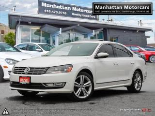 Used 2012 Volkswagen Passat 2.0 TDI DIESEL|NO ACCIDENT|LEATHER|ROOF for sale in Scarborough, ON