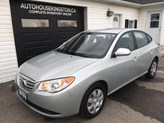 Used 2010 Hyundai Elantra GL for sale in Kingston, ON