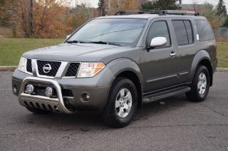 Used 2005 Nissan Pathfinder SE Off-Road 7 Passenger Leather/Roof/DVD for sale in North York, ON