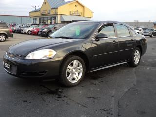 Used 2013 Chevrolet Impala LT 3.5L Dual Exhaust Aluminum Wheels for sale in Brantford, ON