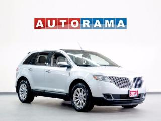 Used 2013 Lincoln MKX NAVIGATION BACKUP CAMERA LEATHER PAN SUNROOF 4WD for sale in North York, ON