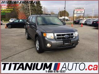 Used 2010 Ford Escape XLT+Remote Starter+Fog Lights+XM Radio+Power Seat+ for sale in London, ON