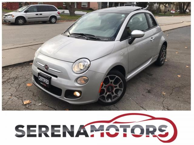 2012 Fiat 500 SPORT | PANOROOF | NO ACCIDENTS | MINT | LOW KM