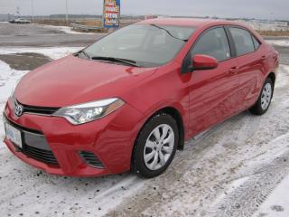 Used 2016 Toyota Corolla LE for sale in Thunder Bay, ON