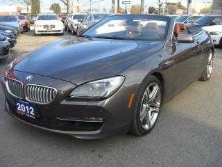 Used 2012 BMW 6 Series 650i Convertible for sale in London, ON