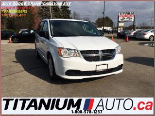 Used 2015 Dodge Grand Caravan SXT+Full Stow N Go Seats+Tinted Glass+Keyless+++++ for sale in London, ON