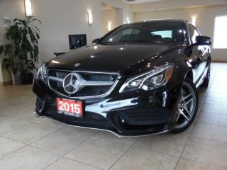 Used 2015 Mercedes-Benz E-Class E550 Coupe Distronic Plus|Navi|360Cam|Panoroof for sale in Toronto, ON
