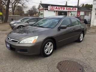Used 2007 Honda Accord SE/Sunroof/4 Cylinder/Automatic/Certified for sale in Scarborough, ON