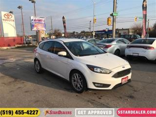 Used 2015 Ford Focus SE   CAR LOANS FOR ALL CREDIT for sale in London, ON