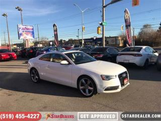 Used 2014 Audi A5 2.0 Komfort | LEATHER | ROOF | HEATED SEATS for sale in London, ON