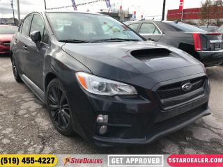 Used 2015 Subaru WRX | ONE OWNER | HEATED SEATS | CAM for sale in London, ON