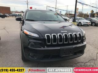 Used 2016 Jeep Cherokee North | ONE OWNER | 4X4 | HEATED SEATS for sale in London, ON