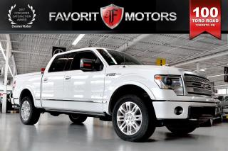 Used 2013 Ford F-150 Platinum ECOBOOST SuperCrew Cab | NAV | BACK CAM for sale in North York, ON