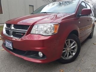 Used 2014 Dodge Grand Caravan 30th anniversary-leather-DVD-push start for sale in Mississauga, ON