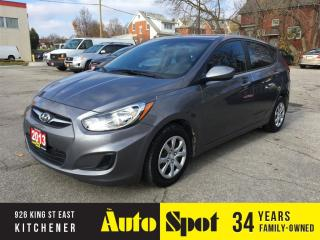 Used 2013 Hyundai Accent GL/LOW, LOW KMS/PRICED FOR A QUICK SALE ! for sale in Kitchener, ON