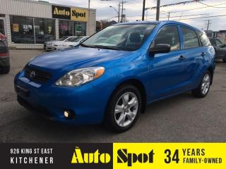 Used 2007 Toyota Matrix LOW, LOW KMS!/PRICED FOR A QUICK SALE! for sale in Kitchener, ON