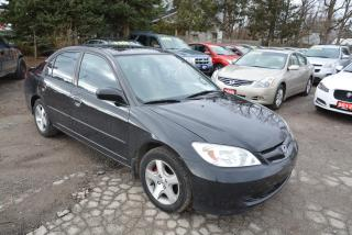 Used 2004 Honda Civic SI,automatic transmission, alloy wheels for sale in Hornby, ON