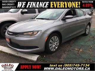 Used 2015 Chrysler 200 LX | LOW KMS ~ LOW PAYMENTS! for sale in Hamilton, ON