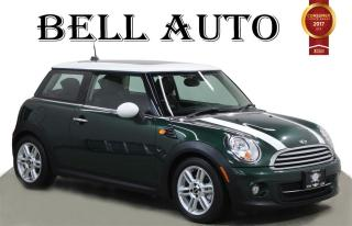 Used 2013 MINI Cooper COOPER LEATHER SUNROOF BLUETOOTH HEATED SEATS AUX for sale in North York, ON