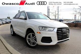 Used 2017 Audi Q3 quattro Komfort + Power Tailgate for sale in Whitby, ON