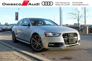 Used 2015 Audi A4 quattro Progressiv + Sport Package for sale in Whitby, ON