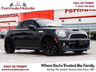 Used 2013 MINI Cooper Coupe S | PRISTINE CONDITION | RARE!! LOW KM! for sale in Scarborough, ON