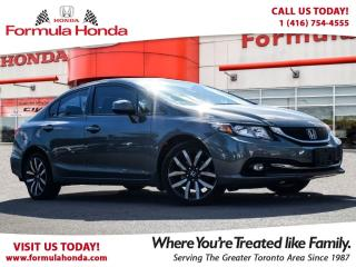 Used 2015 Honda Civic Sedan TOURING | NAVIGATION | ONLY 20, 000 km!! for sale in Scarborough, ON