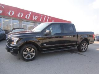 Used 2016 Ford F-150 SPORT! CREW CAB! 4X4! VOICE ACTIVATED NAVIGATION! for sale in Aylmer, ON