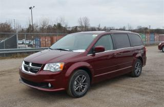Used 2017 Dodge Grand Caravan SXT Plus - DVD, Back Up Cam, Bluetooth, Leather for sale in London, ON
