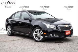 Used 2012 Chevrolet Cruze LTZ RS Pkg nav Sunroof Bluetooth Leather for sale in Thornhill, ON