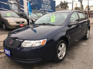 Used 2007 Saturn Ion Sedan ION.2 Midlevel for sale in Scarborough, ON