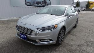 Used 2017 Ford Fusion SE Leather, Navi for sale in Stratford, ON