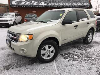 Used 2008 Ford Escape XLT | 4X4 | 1 OWNER| LEATHER | HEATED SEATS ... for sale in St Catharines, ON